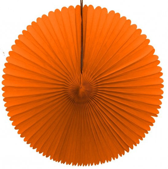 "Honeycomb Fan-13"" Orange"