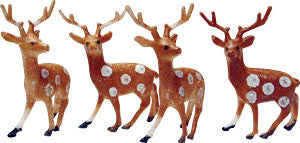 Spotty Reindeer Novelties