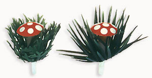 Woodland Toadstool Novelty Picks