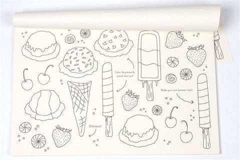 ICE CREAM PARTY PLACEMATS