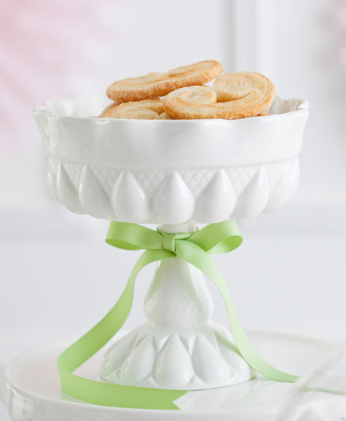 DECOR BON BON FOOTED ROUND BOWL