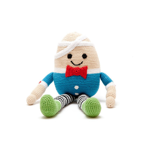 Humpty Dumpty Hand Crocheted Soft Toy