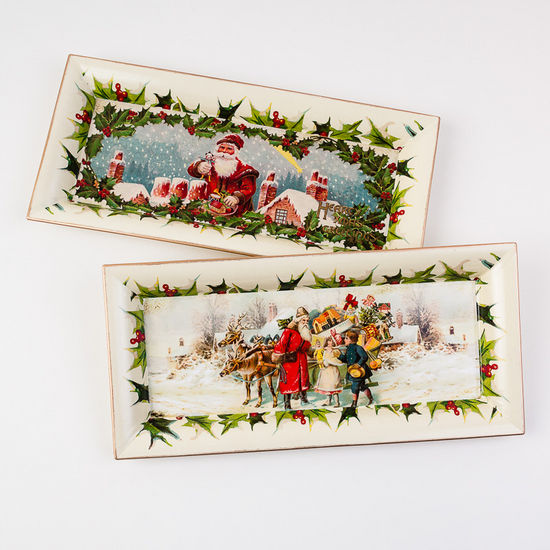 Rectangle Christmas Tray