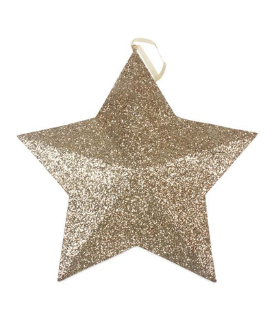 Gold Glitter Star XL