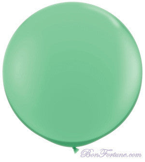 Giant Round Balloon-Mint Green