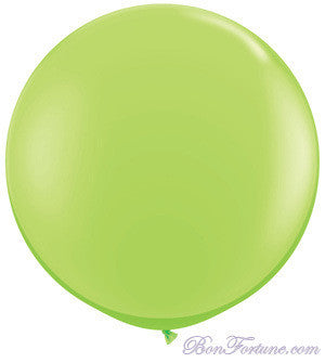 Giant Round Balloon-Lime Green