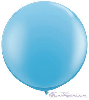 Giant Round Balloon-Baby Blue