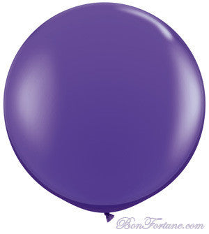 Giant Round Balloon-Purple
