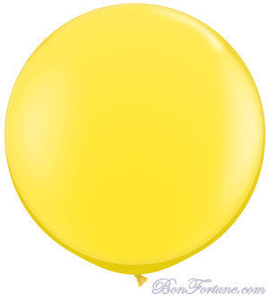 Giant Round Balloon-Yellow