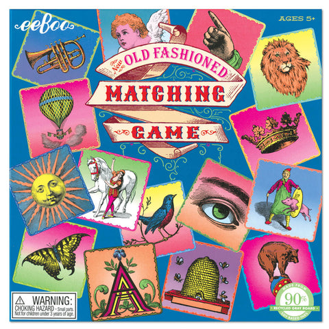 OLD FASHIONED MATCHING GAME