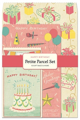 HAPPY BIRTHDAY PETITE PARCEL SET