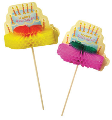 Birthday Cake Party Picks