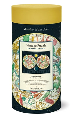 Constellations Vintage Style Puzzle