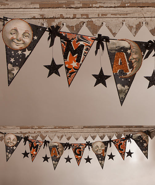 Halloween Magic Pennant Garland