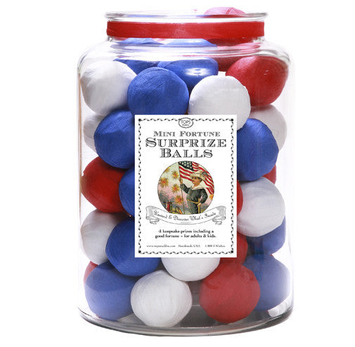 Patriotic Mini Surprise Balls