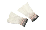 Lovely Lace Cuffs (Grey/Blush, Red/Pink, or Blue/Red)