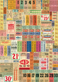 Vintage Ticket Wrap