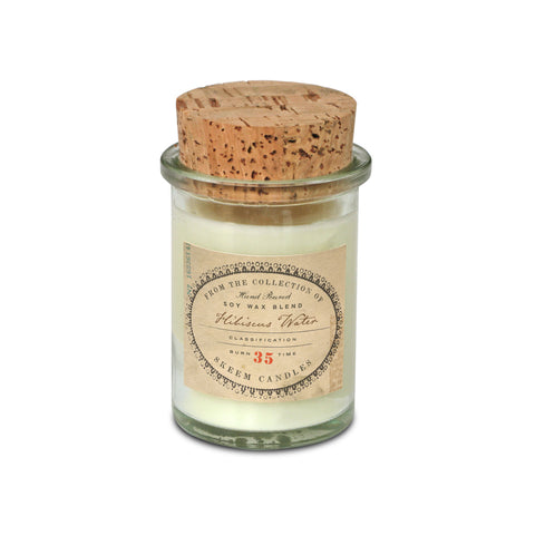 Field Jar Candle-Hibiscus Water