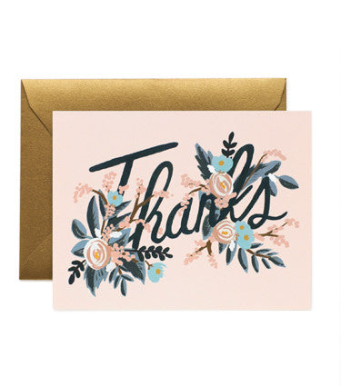 WOODLAND THANK YOU CARD SET