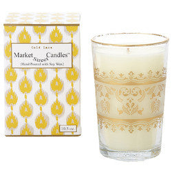 GOLD LACE TEA CANDLE