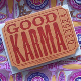 Good Karma Card