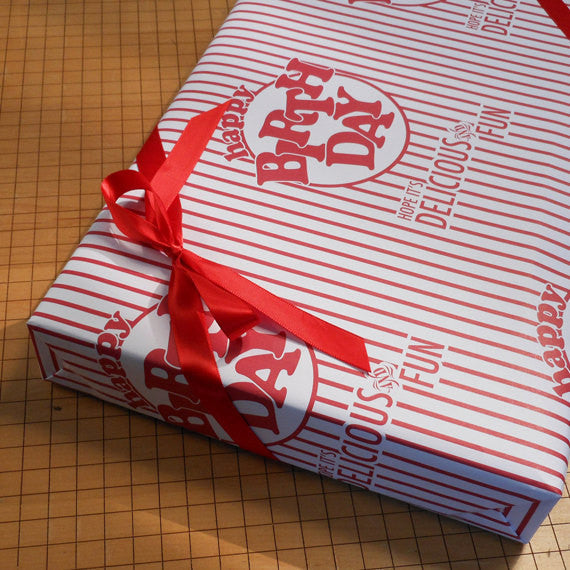BIRTHDAY PARTY GIFT WRAP