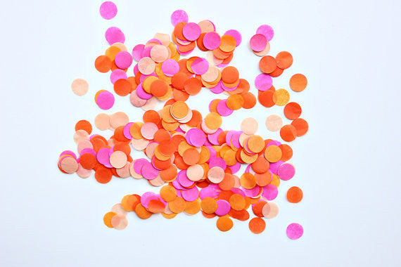 Hand Cut Confetti-Bright
