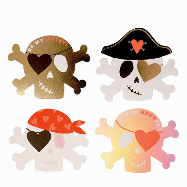 Pirate Valentine Love Notes