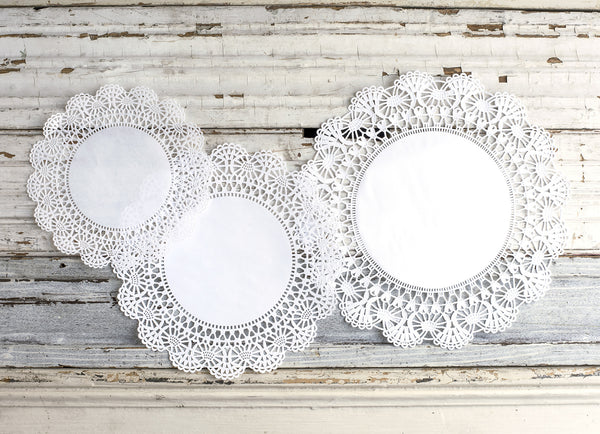 Doilies-Serving Papers