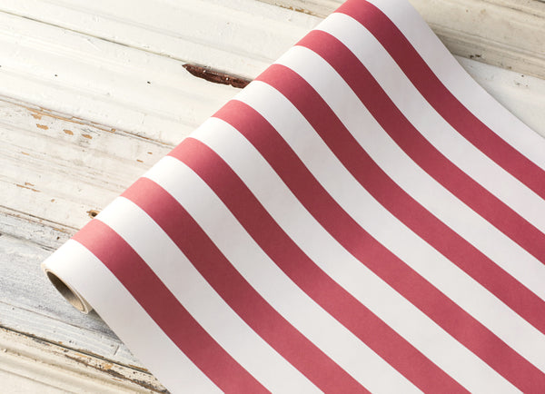 Striped Runner-Circus Red