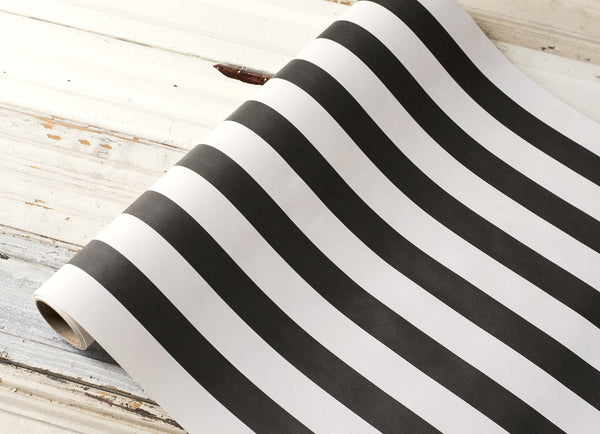 Striped Runner-Classic Black
