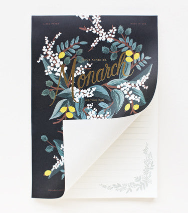 MONARCH WRITING PAD