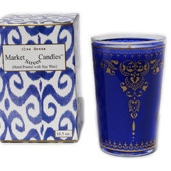 MIDNIGHT BLUE HENNA TEA CANDLE