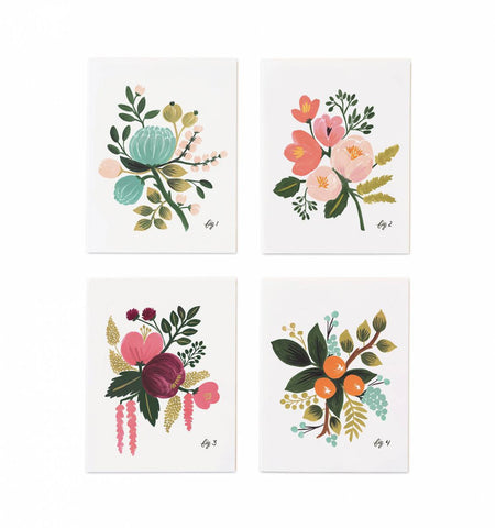 BOTANICAL ASSORTED GREETING CARD SET