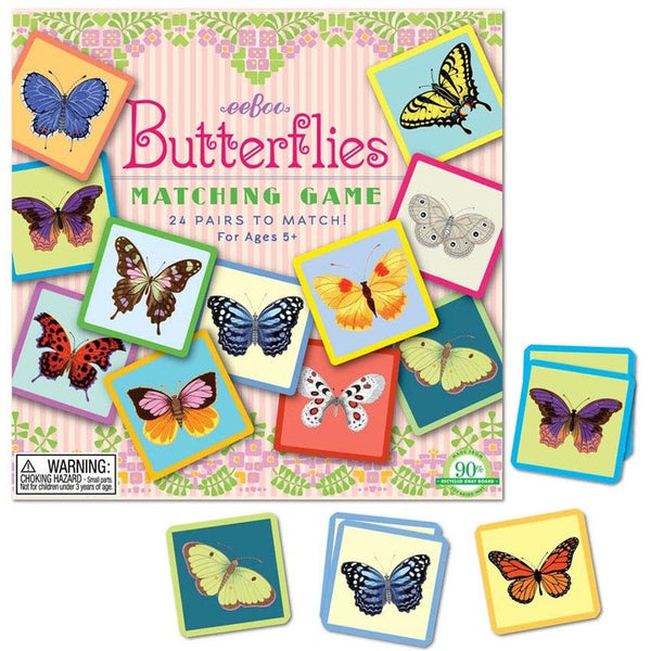 BUTTERFLY MATCHING GAME