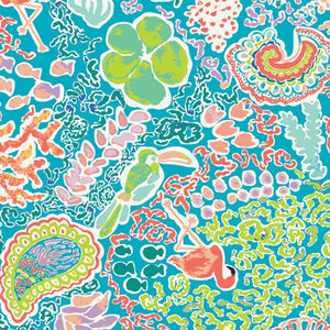 Beach Treasures Luminescent Fabric | West Palm Collection by Katie Skoog For Art Gallery Fabrics