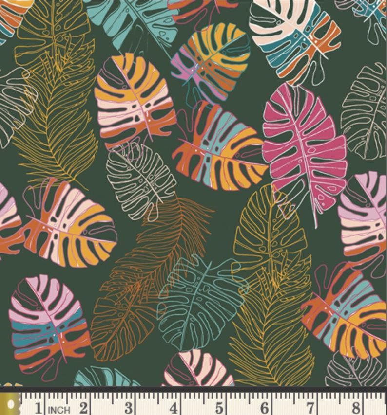 Jungle Tour Fabric, Maara Collection by Alexandra Bordallo For Art Gallery Fabrics