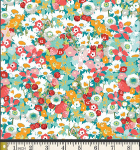 Flowered Medley Fabric, Lavish Collection by Katarina Rochella For Art Gallery Fabrics