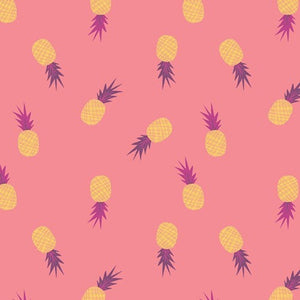 Ananas Sorbet Fabric, Sirena Collection by Bonnie Christine For Art Gallery Fabrics