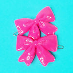 Load image into Gallery viewer, VINTAGE BOW BARRETTES - PINK