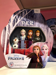 Frozen Pez Collectable Gift Tin