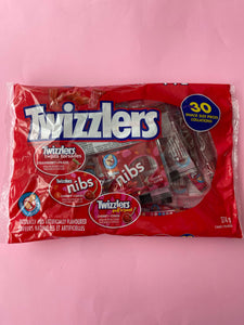 Twizzlers/Nibs assorted minis -30 pieces