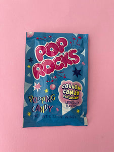 Pop Rocks - cotton candy explosion