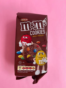 M&M Cookies - Double Chocolate