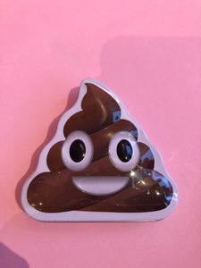 Poop candy tin (brown)