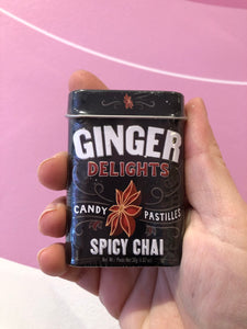 Mints:ginger spicy chai
