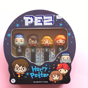 Harry Potter Pez collectable gift tin