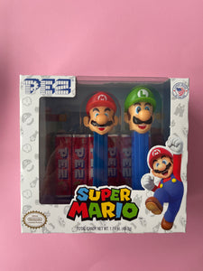 Pez Super Mario twin gift pack