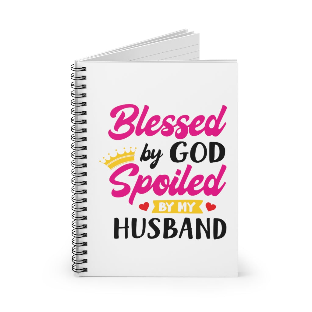 Blessed by God Notebook
