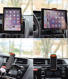 11.5-19cm Phone/Tablet Clip Scale Universal 360 Degree Rotation Car CD Slot Mount Holder Stand For Phone Tablet